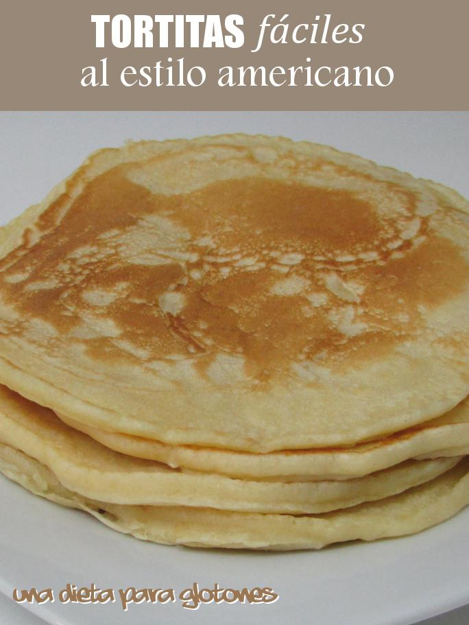 Tortitas FÁCILES al estilo americano