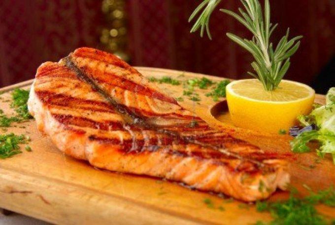 pescado asado para perder grasa corporal