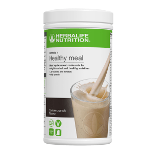 F1 Meal Replacement Shakes – Cookie Crunch 550g