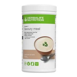 F1 Savoury Meal – Mushroom & Herb