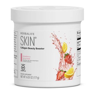Collagen SKIN Booster – Strawberry & Lemon Flavour