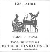 125 Jahre Bock & Hinrichsen