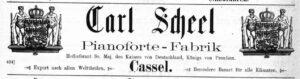 Scheel 1892