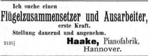 Haake 1894