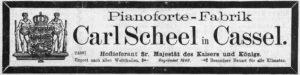 Scheel 1897