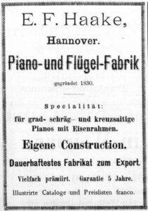 Haake 1886