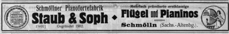 Staub 1914