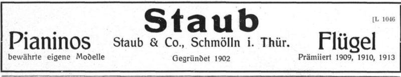 Staub 1924