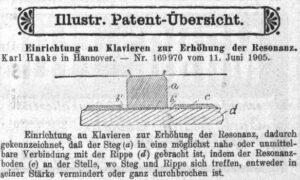 Haake Patent 1906