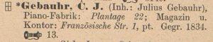 Gebauhr WAB 1906