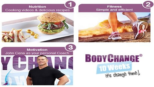 10 Week Body Change Lose Weight with John Cena