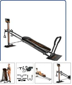 Total Gym Chuck Norris Home Gym Workout Equipment