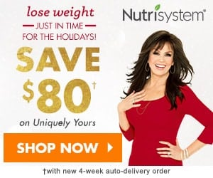 Nutrisystem Special Holiday Sale – Don't Miss Out on This Deal