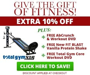 Total Gym Best Home Exercise Machine 30 Day Trial Offer!