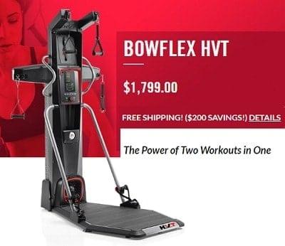 bowflex hvt new fitness machine