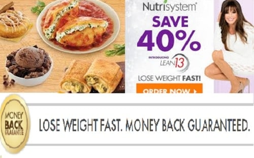 Nutrisystem Money Back Guarantee 14 Day Trial Offer & Save 40%