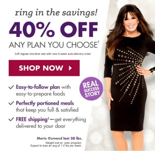 Nutrisystem and Marie Osmond