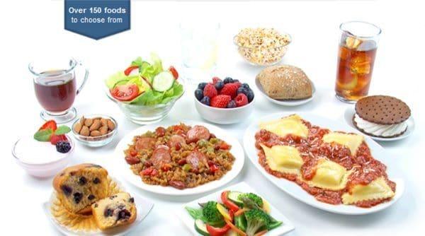 Nutrisystem Vegetarian Food List