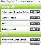 Nutrisystem App