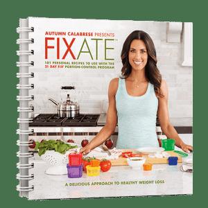 Autumn Calabrese Fixate Cookbook