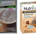 nutrisystem protein shakes and bars