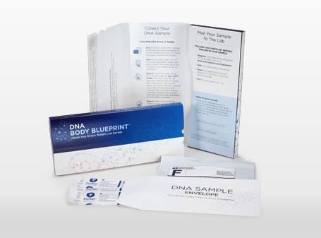 DNA Body Blue Print Kit