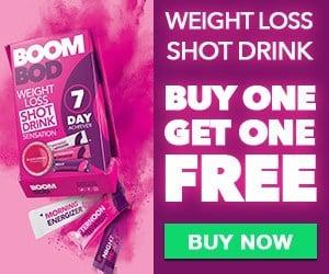 boombod weight loss shot drinks