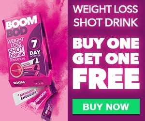 boombod weight loss shot drinks