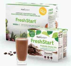 Nutrisystem Frest Start Meals