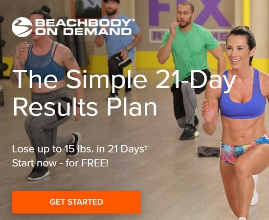 Simple 21 Day Results Plan