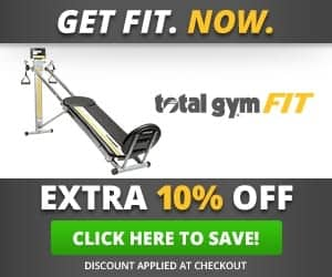 Total Gym Fit Save 10%