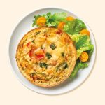 delicious vegetable frittata