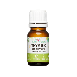 Huile Essentielle De Thym Bio Ct Thymol 10ml Dieti Natura