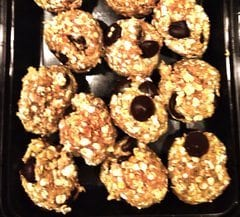 Chocolate Chip Nut Balls
