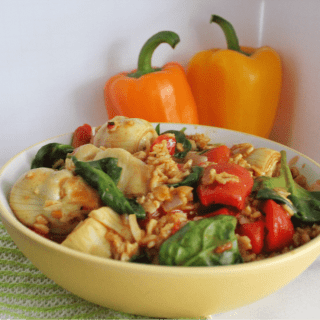 Savory Moroccan Spiced Oatmeal