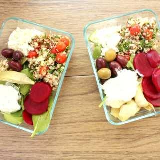 The Best Mediterranean Salad