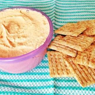 Roasted Red Pepper Cashew Cheese