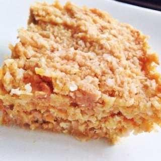 Gluten Free Sweet Potato Bars
