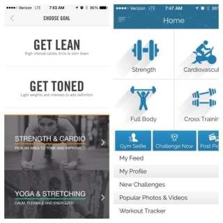 Favorite Fitness Apps