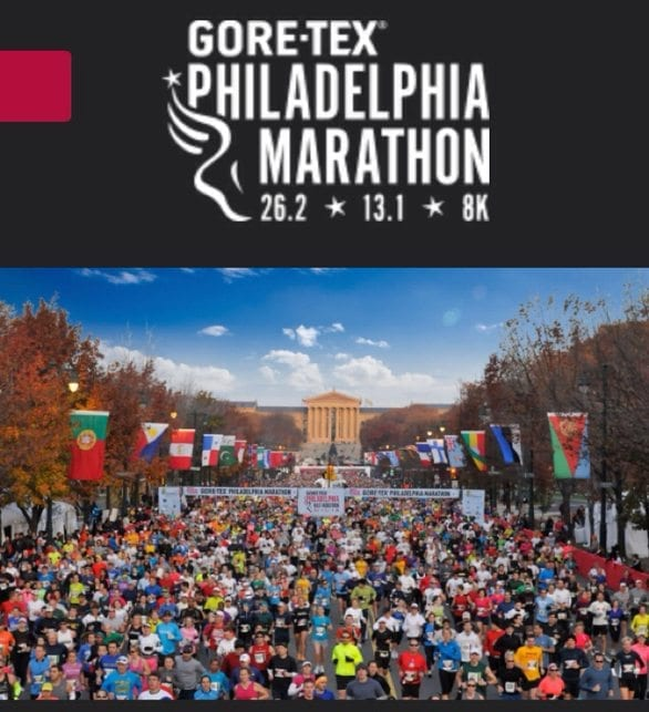 Image Courtesy of Gore-Tex Philadelphia Marathon Website