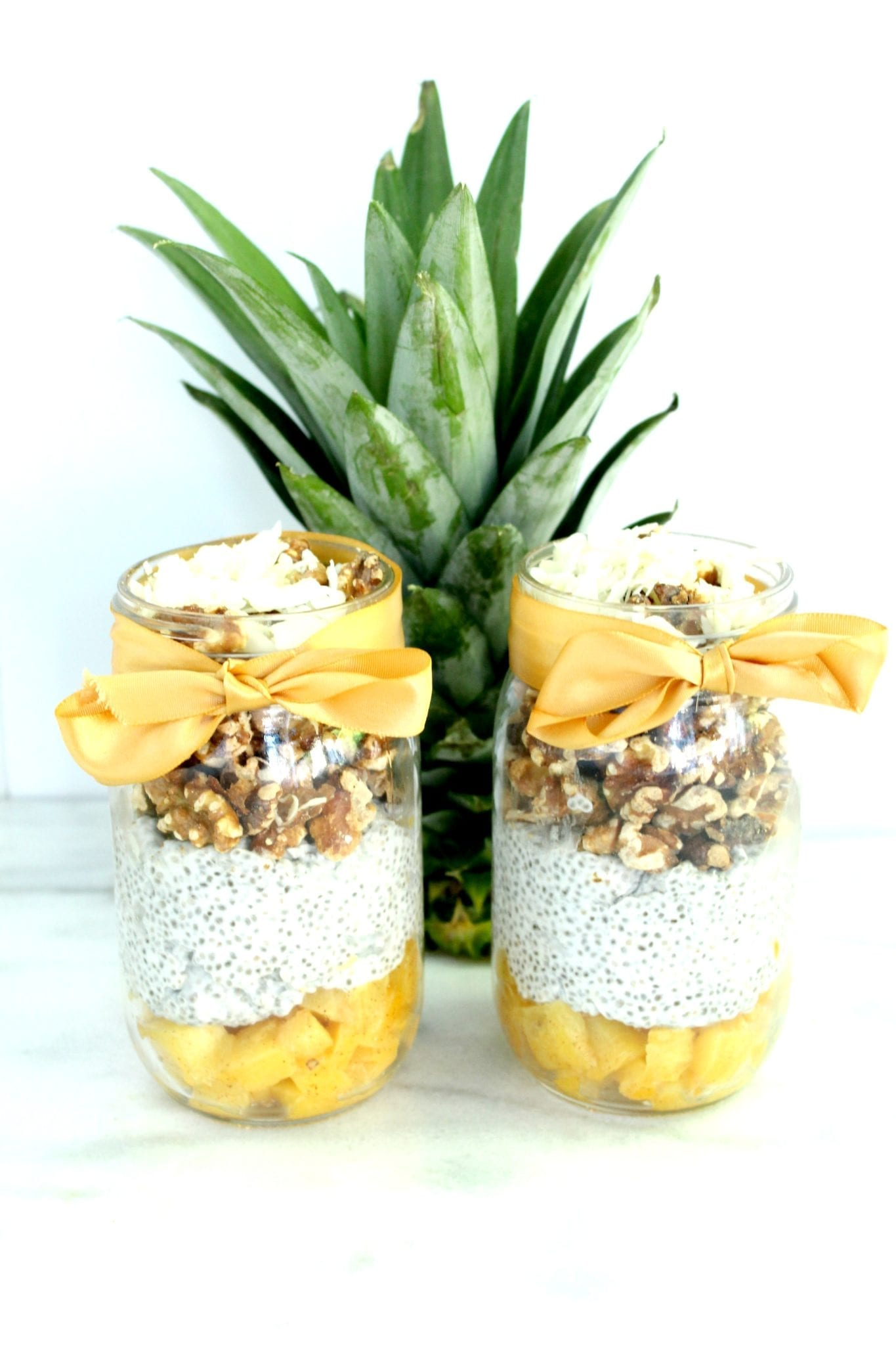 Chia Walnut Pineapple Parfait 2