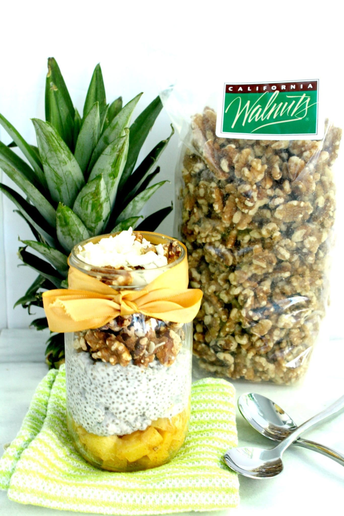 Chia Walnut Pineapple Parfait 4