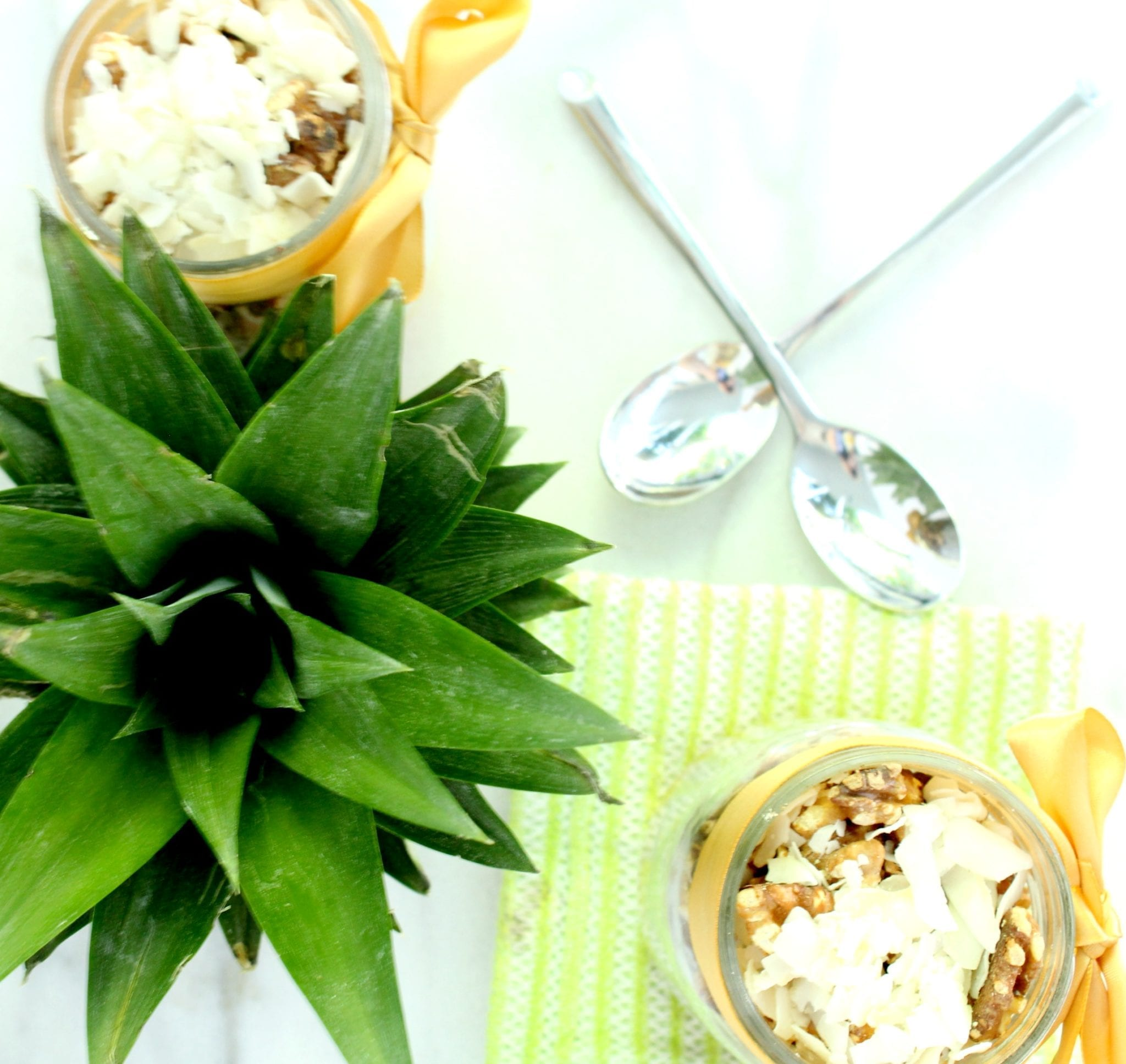 Chia Walnut Pineapple Parfait 5