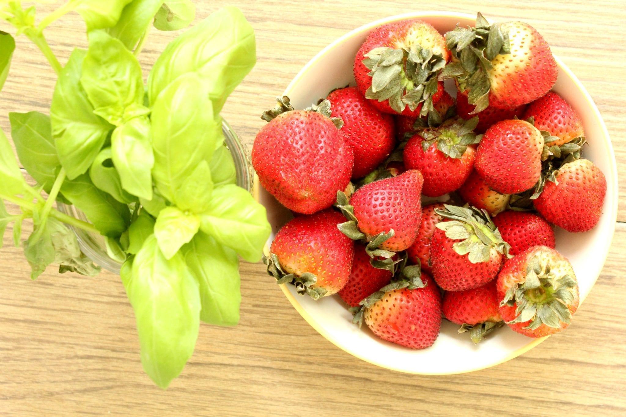 Delicious Strawberry Basil Salsa Recipe