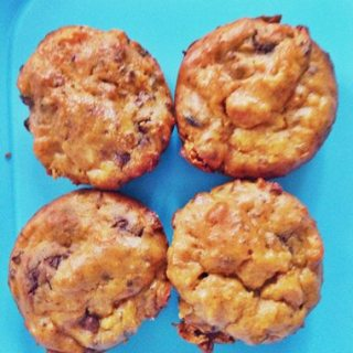 Sweet Potato Protein Muffins