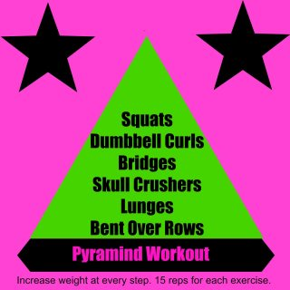 Back To the Grind Pyramid Workout