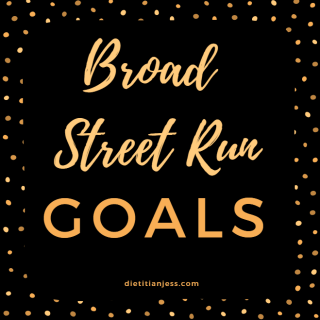 Broad Street Run Goals