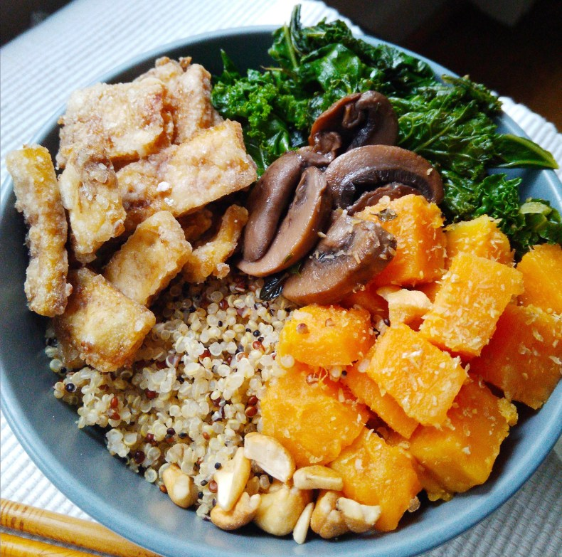 Easy plant-based, vegan, vegetarian, egg-free, dairy-free, nut-free, gluten-free, fast, quick dinner recipes, super easy crispy baked tofu, plant-based, whole foods, clean eating, side dish, 40 minutes or less recipe