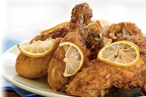 Lemon Ginger Fried Chicken