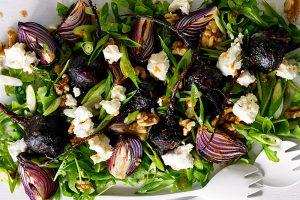 Baked Beetroot Salad